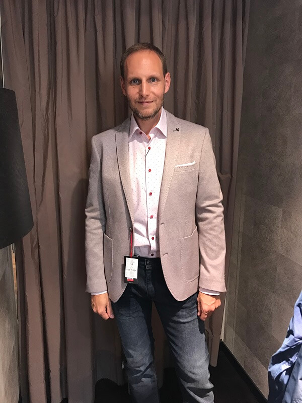 Christian - Personal Shopping Business Outfit
