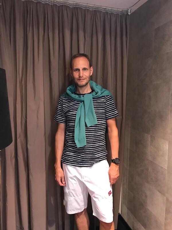 Casual Look Shorts als Teil der persönlichen Image