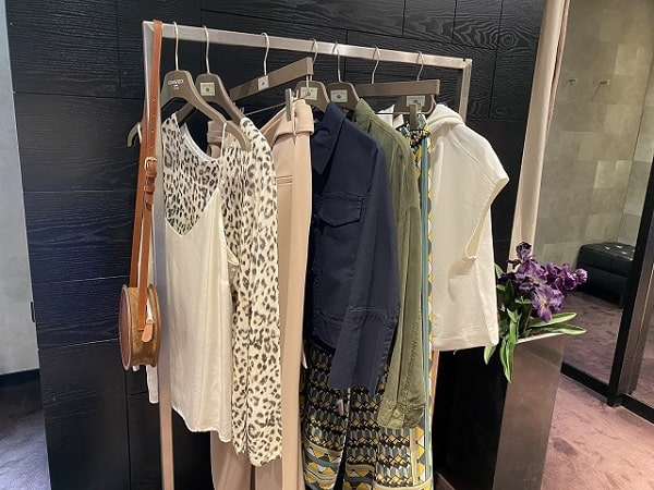 Kleiderstange, Personal Shopping
