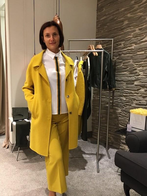 Natalia in Oberpollinger Personal Shopper Lounge