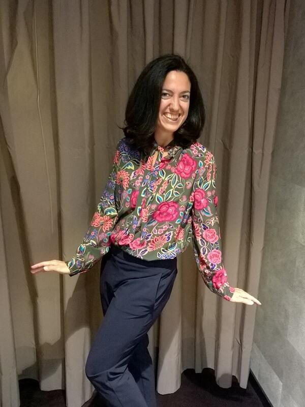 Typberatung - Conchita - Bluse und Businesshose